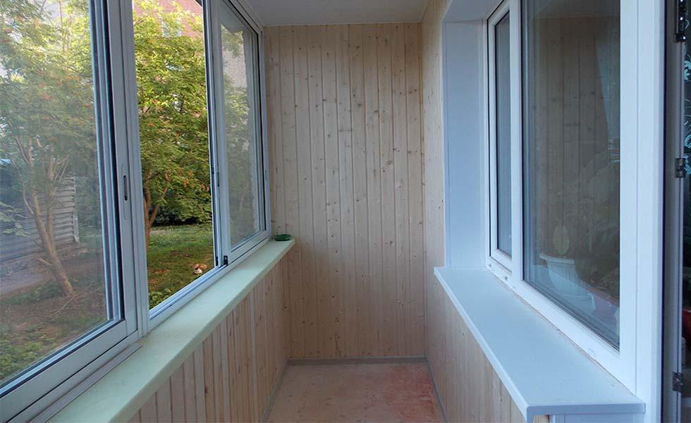 Отделка балконов и лоджий в алексине. цены. фотостроительно-.