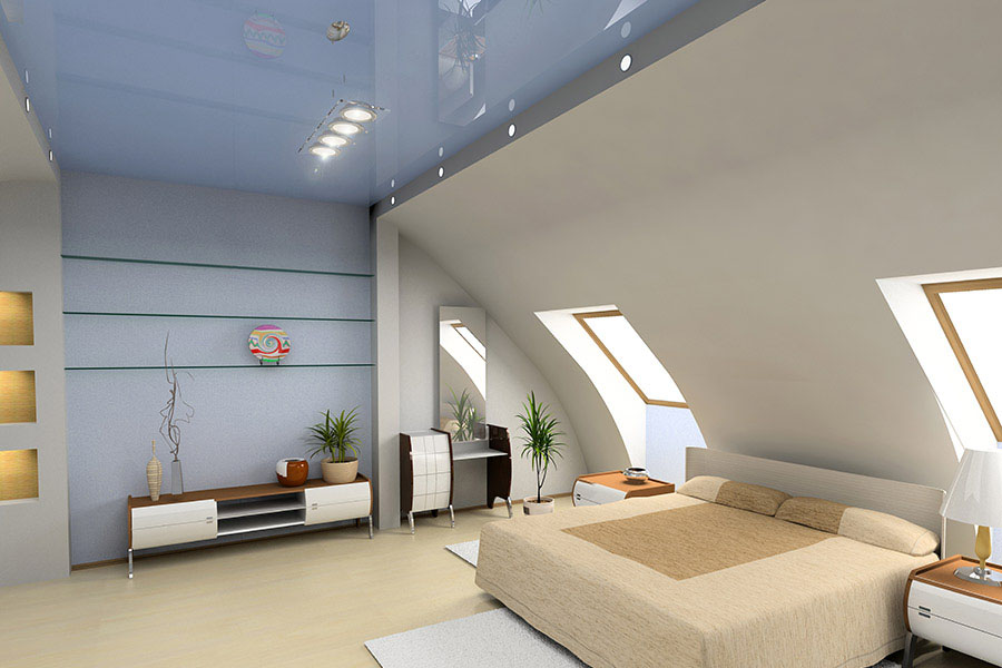 глянцевый_потолок
