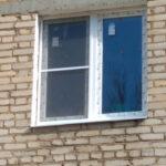 двухстворчатое окно пвх