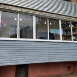 отделка и остекление балкона