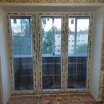 двери на балкон вместо балконного блока
